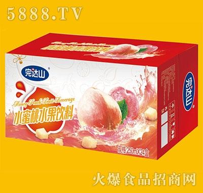 完�_山水蜜桃水果�料250mlx24盒