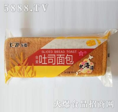 卡资全麦吐司面包300g
