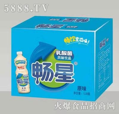 畅星乳酸菌饮品原味1LX8