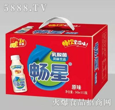 畅星乳酸菌饮品原味340mlx12瓶