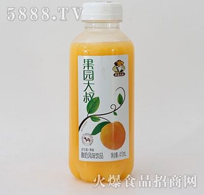 果园大叔益生菌+黄桃酸奶饮品410ml产品图