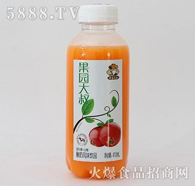 果园大叔益生菌+山楂酸奶410ml产品图