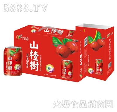 百事康山楂树下山楂汁(箱)