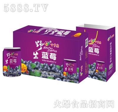 百事康野生蓝莓汁(箱)