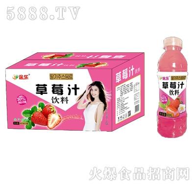 途乐草莓汁饮料600mlx15瓶