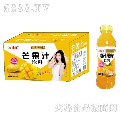 途乐橙汁果粒饮料600mlx15瓶