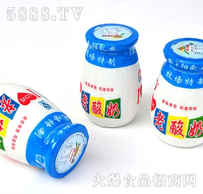 益元老酸奶