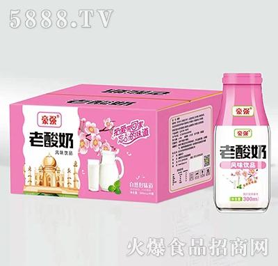 豪强老酸奶300mlx15瓶