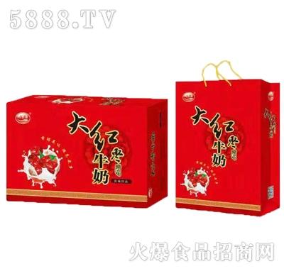 九里源大红枣牛奶礼盒装
