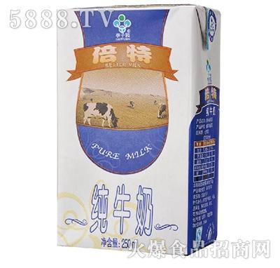 李子园倍特纯牛奶250ml产品图