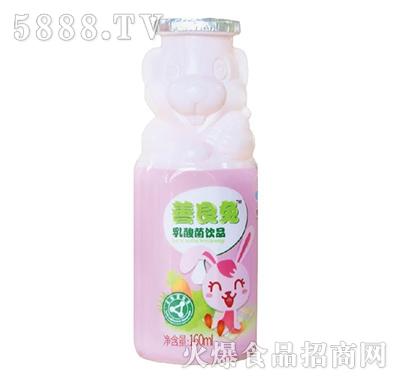 李子园善良兔乳酸菌饮品160ml