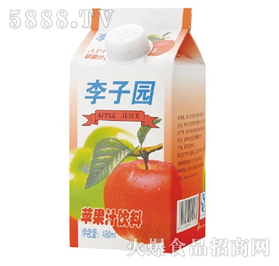 李子园苹果汁饮料480ml