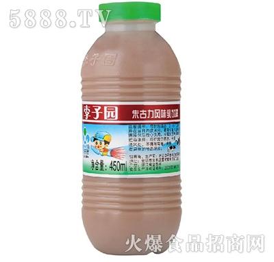 李子园朱古力风味乳饮料450ml