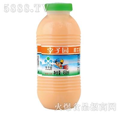 李子园甜牛奶饮品哈密瓜味450ml