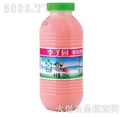 李子园草莓风味乳饮料225ml