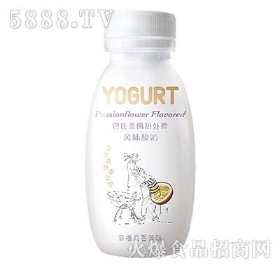 李子园风味酸奶西番莲口味280g