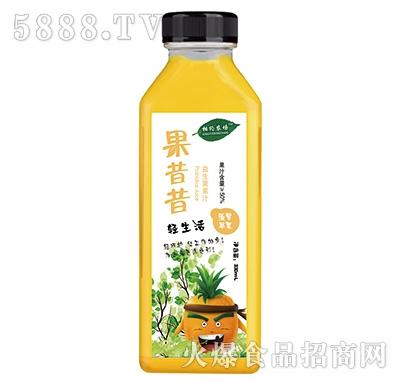 相约农场果昔昔益生菌菠萝苹果汁330ml
