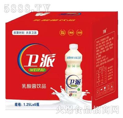 卫派乳酸菌饮品1.25LX6产品图
