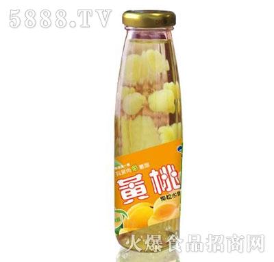 米奇黄桃果粒水果饮料265ml×15瓶