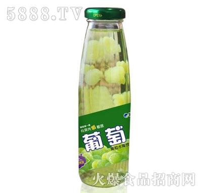 米奇葡萄果粒水果饮料265ml×15瓶