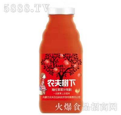 农夫树下海红果果汁饮品