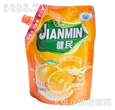 健民香橙冲饮品400g产品图