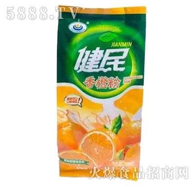 健民香橙粉冲饮品产品图