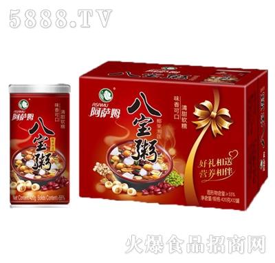 阿萨姆椰果湘莲八宝粥420gx12罐产品图