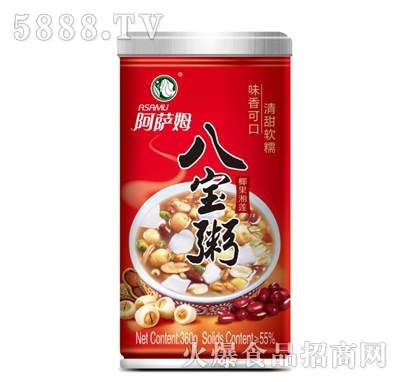 阿萨姆椰果湘莲八宝粥420g产品图