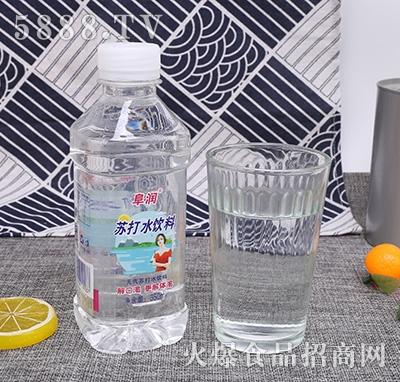 阜润苏打水饮品350ml