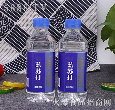 阜润忆宝无汽蓝苏打水饮料350ml