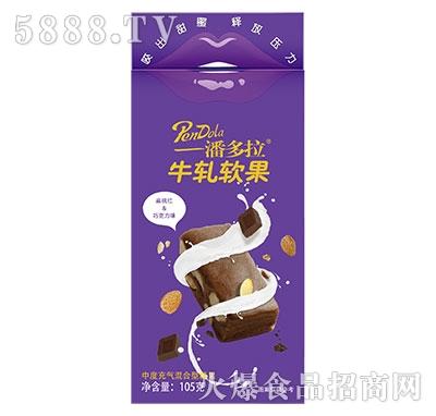 马大姐潘多拉牛轧软果扁桃仁+巧克力味105g