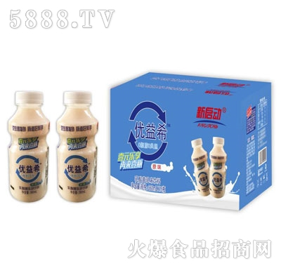 新启动优益希乳酸菌饮品360mlX15瓶产品图