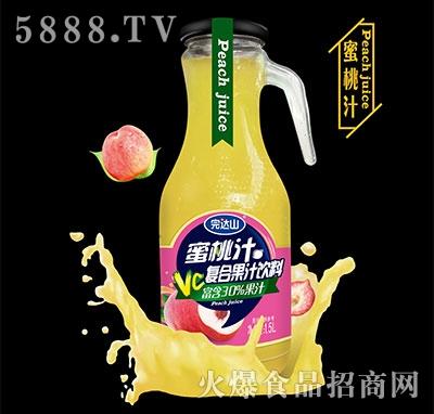 完�_山蜜桃汁1.5L