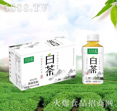 天饮源白茶茶味饮料380mlx15瓶