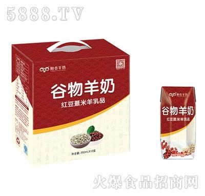 阳春羊奶红豆薏米羊奶