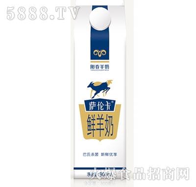 阳春羊奶萨伦卡巴氏鲜羊奶900ml