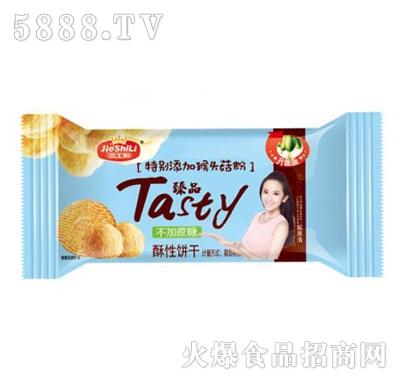 杰士利臻品酥性饼干(袋)