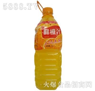 佳美鲜橙汁果味饮料2L