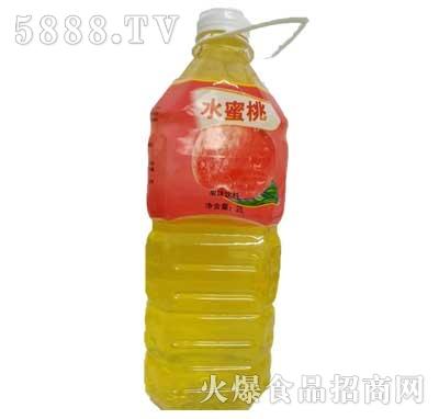 佳美水蜜桃果味饮料2L