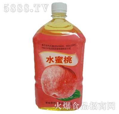 佳美水蜜桃果味饮料1L