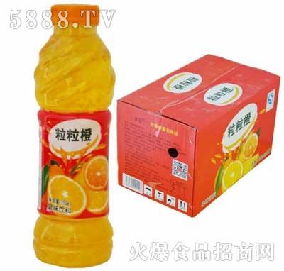 佳美粒粒橙口味饮品600ml箱装