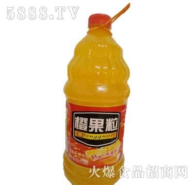 佳美橙果粒果味饮料2.5L