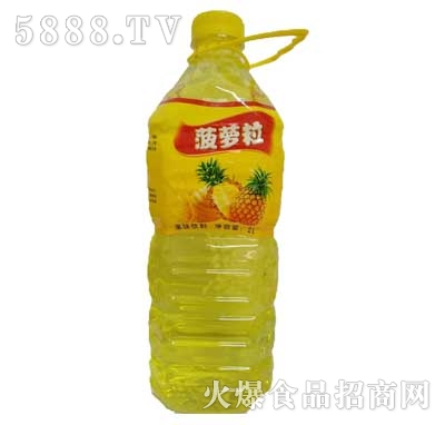 佳美菠萝粒果味饮料2L