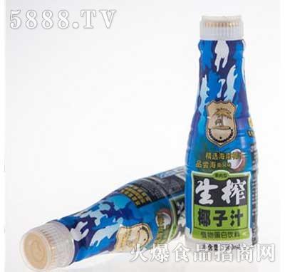 特种部队生榨椰子汁植物蛋白饮料500ml