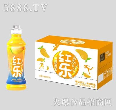 红乐芒果口味果味饮料550mlX15