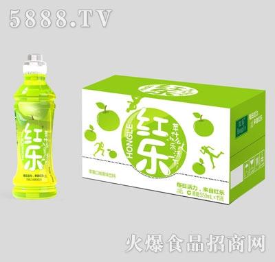 红乐苹果口味果味饮料550mlX15