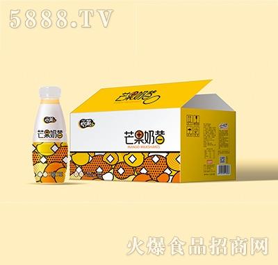 怡莱芒果奶昔乳味饮料450mlx15瓶