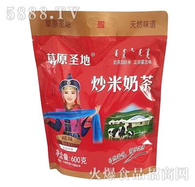 草原圣地炒米奶茶600克产品图