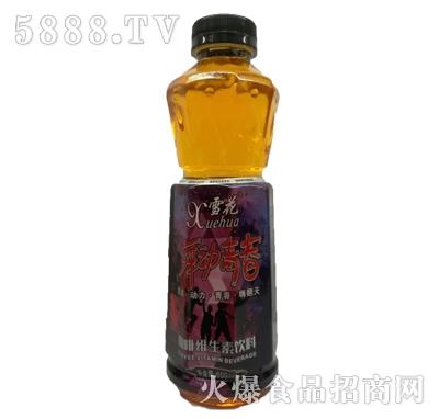 雪花舞动青春咖啡维生素饮料550ml
